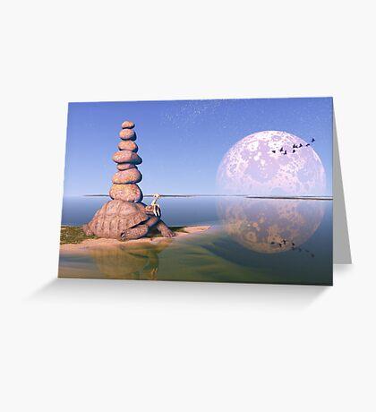 Zen Tortoise Greeting Card