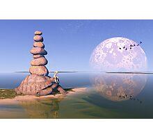 Zen Tortoise Photographic Print