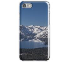 Fallen Leaf Lake from the Air  iPhone Case/Skin