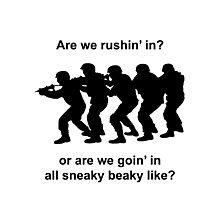 CSGO Sneaky Beaky Shirt Photographic Print