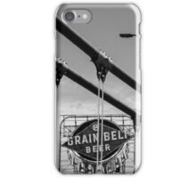 Grain Belt Beer Sign and Bridge iPhone Case/Skin