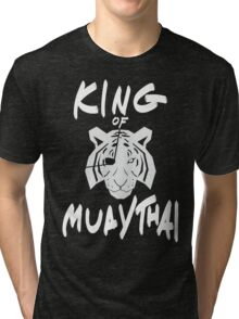 Sagat King of Muay Thai Re-Work Tri-blend T-Shirt