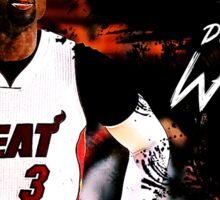 Dwyane Wade #3 - Miami Heat Sticker