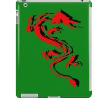 3D Double Dragon Silhouette iPad Case/Skin
