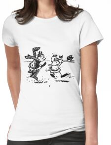 Herriman in Dance Womens Fitted T-Shirt