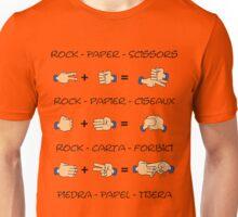 Stone, Paper & Scissors Unisex T-Shirt