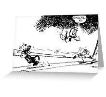 Rascal !!! Greeting Card