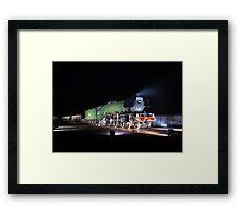 The Flying Scotsman Framed Print