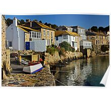 Early Morning at Mousehole, Cornwall Poster