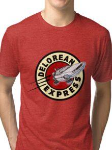 DeLorean Express Tri-blend T-Shirt