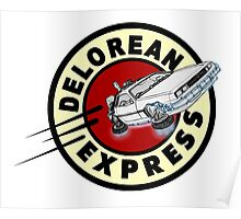 DeLorean Express Poster