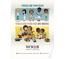 These Are Your Kids On Books Poster