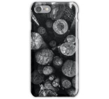 A Pile of Logs iPhone Case/Skin