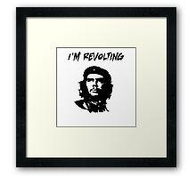 Che Guevara I'm Revolting Framed Print