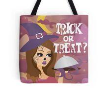 Trick or treat? Halloween design Tote Bag