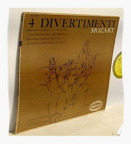 4 Divertimenti, Mozart, Warhol Poster