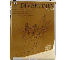 4 Divertimenti, Mozart, Warhol iPad Case/Skin