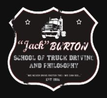 Jack Burton Trucking One Piece - Short Sleeve