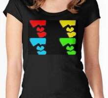 Shadow of a Heart Women's Fitted Scoop T-Shirt