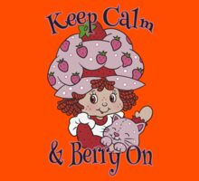 Keep Calm and Berry On Kids Clothes