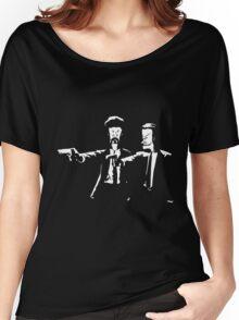 Beavis & Butthead Pulp Fiction Women's Relaxed Fit T-Shirt