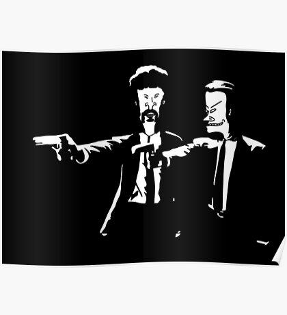Beavis & Butthead Pulp Fiction Poster