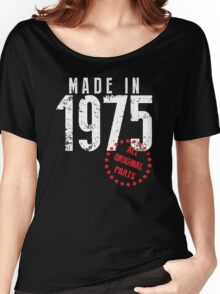 Made In 1975, All Original Parts Women's Relaxed Fit T-Shirt