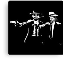 Django Fiction Canvas Print