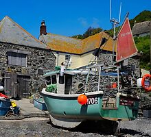 The Boathouse, Cadgwith, Cornwall by rodsfotos