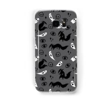 Wolf and Ghost Pattern Samsung Galaxy Case/Skin