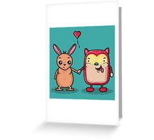 Retro Besties Greeting Card