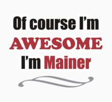 Maine Is Awesome One Piece - Short Sleeve