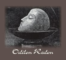 Odilon Redon - Head of a Martyr by William Martin