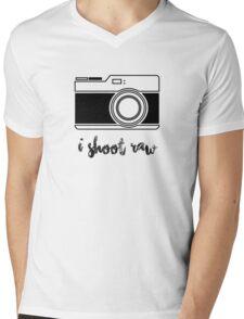 I Shoot Raw! Mens V-Neck T-Shirt