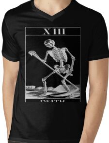 The death card Mens V-Neck T-Shirt