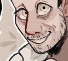 it's daniel (but evil this time) Sticker