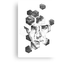 Sherlock - I made me Canvas Print