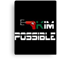Kim Possible  Canvas Print