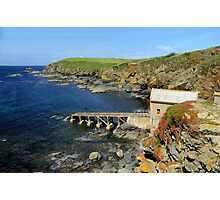 The Old Lizard Lifeboat Station, Cornwall Photographic Print