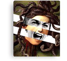 "Caravaggio's Medusa & Vivien Leigh in ""Psycho"" Canvas Print"