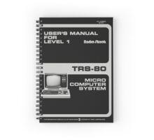 Radioshack TRS-80 Manual Recreation - Spiral Notebook Spiral Notebook