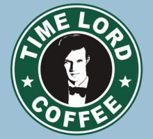 Time Lord Coffee Baby Tee