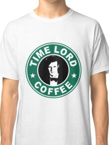 Time Lord Coffee Classic T-Shirt