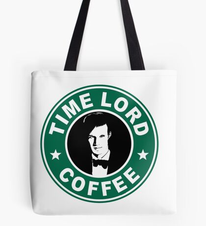Time Lord Coffee Tote Bag