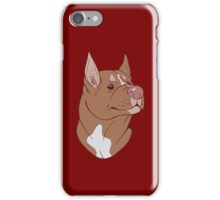 Pit Bull Pride- Red Point iPhone Case/Skin