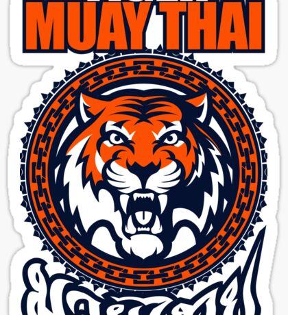 tiger sagat muay thai 3 thailand martial art Sticker