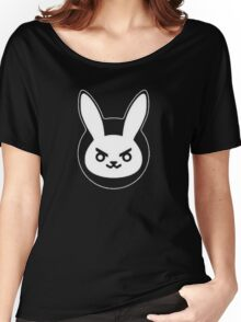 Determined White Rabbit Women's Relaxed Fit T-Shirt