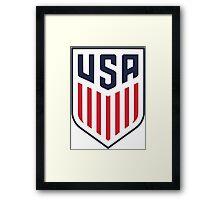 US Soccer Framed Print