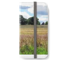 Panorama of English Summer Field iPhone Wallet/Case/Skin