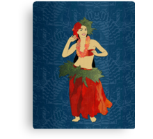 Polynesian Dance Canvas Print
